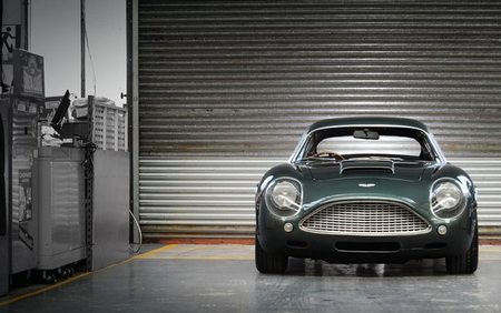 Aston Martin DB4GT Zagato Sanction II front