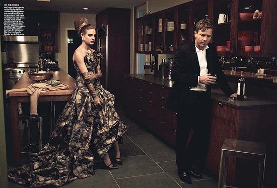 Foto de Natalia Vodianova en Vogue Estados Unidos estilo años 60 (6/10)