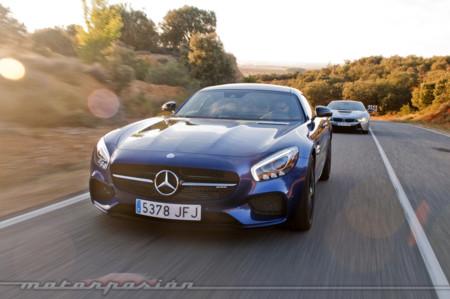 Bmw I8 Mercedes Amg Gt Motorpasion
