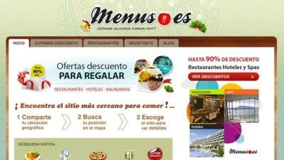 Menus.es te ayuda a elegir restaurantes en tu zona