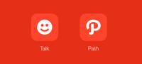 Path se divide creando su propio servicio de mensajería, Talk