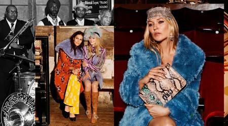 El glamour se instala en la campaña de Miu Miu Otoño-Invierno 2017/2018 de la mano de una deslumbrante ¡Kate Moss!