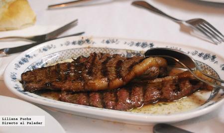 Restaurante O Forno. Carne a la brasa