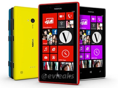 Nokia Lumia 520 y 720 muestran su aspecto antes del Mobile World Congress