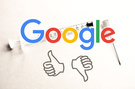 Google sigue dejando que sus algoritmos determinen si las vacunas son buenas o malas, mientras pretenden combatir los sesgos