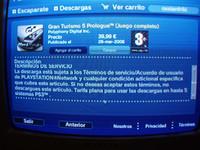 'GT 5 Prologue', problemas en la PStore