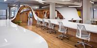 Espacios para trabajar: la supermesa de Barbarian Group en Nueva York