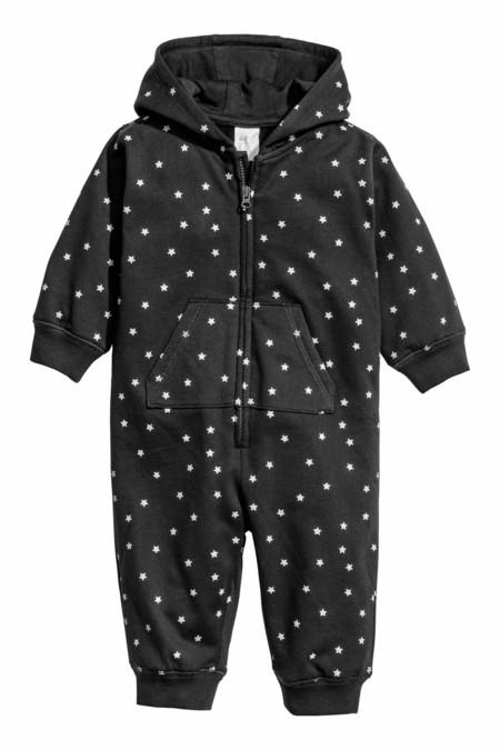 Buzo Estrellas Bebe Negro