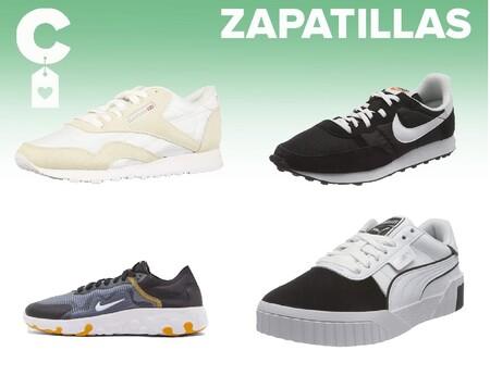Chollos en tallas sueltas de zapatillas Nike, Puma, Reebok o Adidas en Amazon