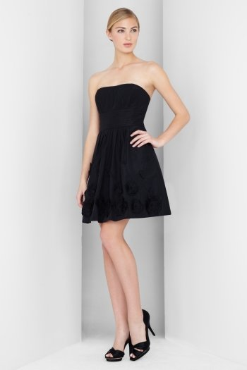 Mini-vestido negro