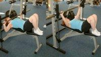 Si sufres de dolores en la espalda, flexiona las rodillas al trabajar tumbado