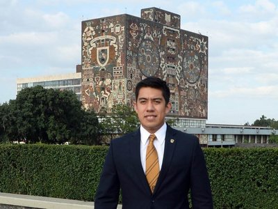 """Estudiante de la UNAM invitado por la NASA a """"estudiar Marte"""""""