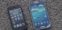 El Samsung Galaxy 4 ha llegado ¿Te gustan las comparaciones absurdas? Aquí tienes una comparativa de resistencia a caidas con el iPhone 5