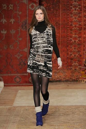 Erin Wasson x RVCA, Otoño-Invierno 2010/2011 en la Semana de la Moda de Nueva York