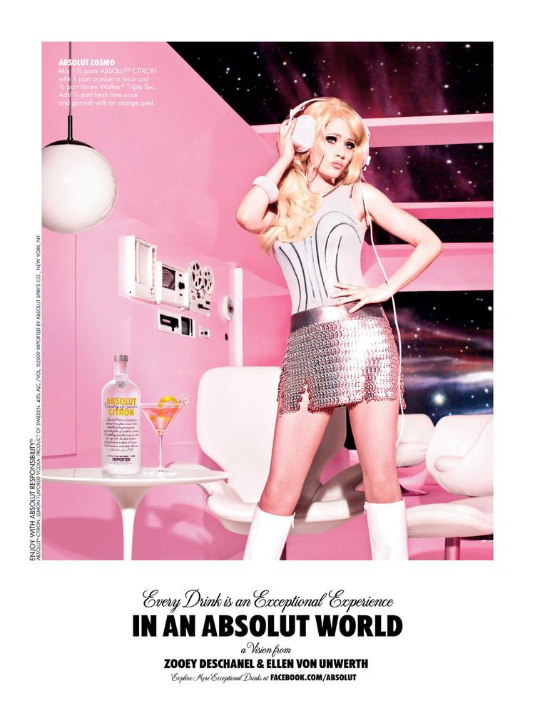 Foto de Kate Beckinsale y Zooey Deschanel campaña de Absolut Vodka (4/4)