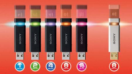Nuevas memorias USB de Sony, una delicia