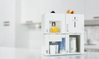 Compact4All, el cuatro en uno para nuestra cocina que nos ayuda a ahorrar espacio