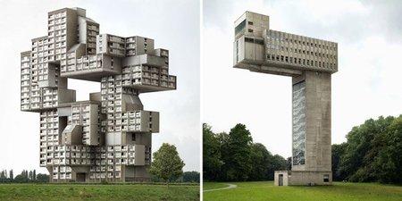 Fictions, edificios imposibles por Filip Dujardin