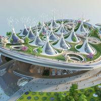 Una terminal para ferries con pulmón incluido: eso es Manta Ray, un proyecto 4 en 1 para purificar el río Han