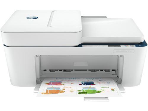 Impresora Multifunción tinta HP DeskJet Plus 4130, Wi-Fi, copia, escanea, envía fax, compatible con Instant Ink
