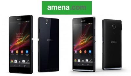 Precios Sony Xperia Z y Sony Xperia SP con Amena