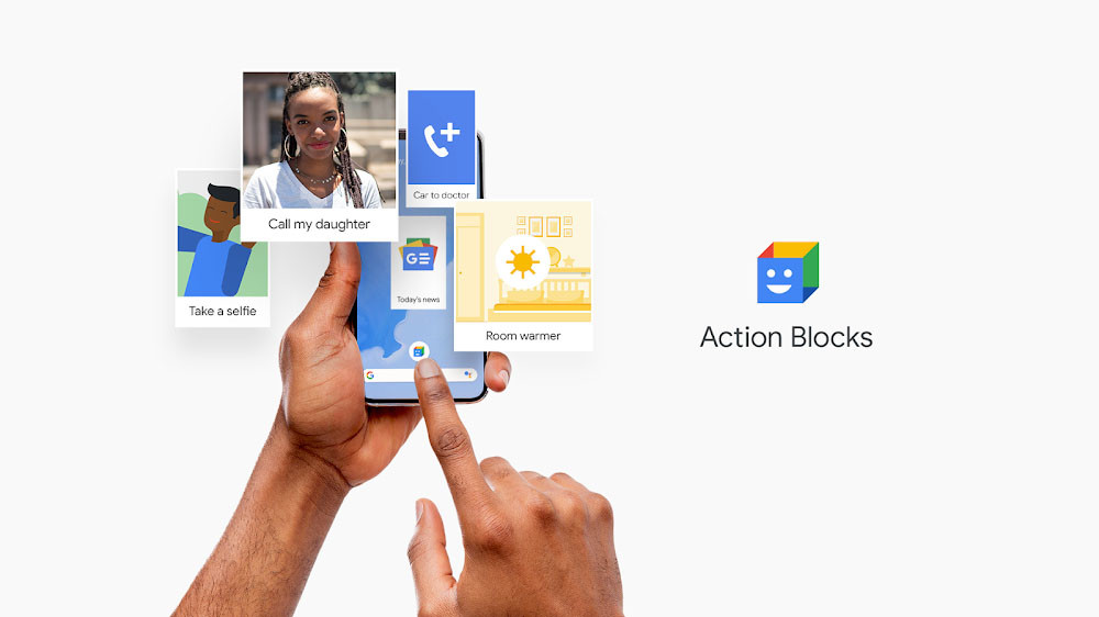 Google launches Action Blocks: your new accessibility application which enables you to add glyphs in Android
