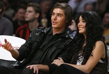 Zac Efron y Vanessa Hudgens, elegidos la pareja del año