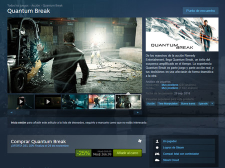 Quantum Break Oferta