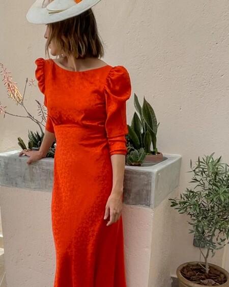 Tamara Falco Vestido Rojo Invitada Boda 03