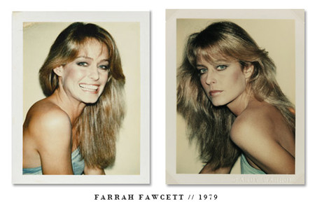 Farrah Fawcett Andy Warhol Polaroids 1979