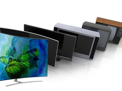 El espectacular cambio estético de las TV: de los muebles de los 60 a auténticos objetos de diseño