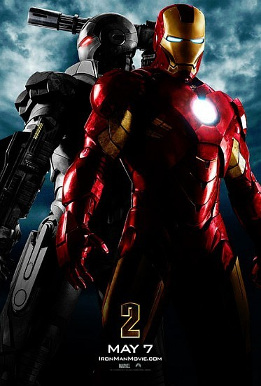 'Iron Man 2', primer cartel