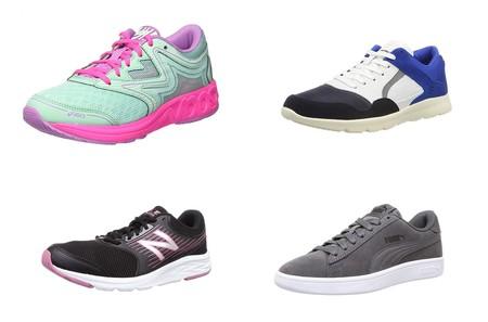 Ofertas en tallas sueltas de zapatillas Asics, Puma, Skechers o New Balance por menos de 30 euros en Amazon