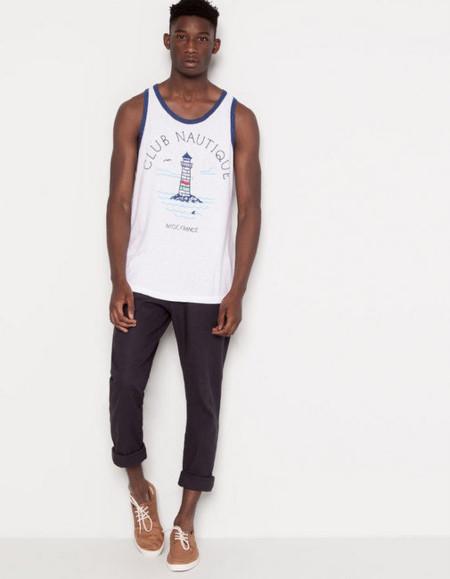 camiseta nautica chico