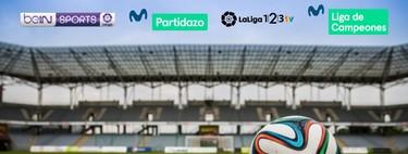 Comparativa con precios definitivos para ver el fútbol 2018/19 con Movistar, Orange, Jazztel y Vodafone