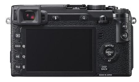 Fujifilm X-E2 pantalla