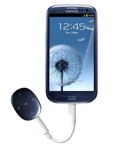 Samsung Galaxy Muse con teléfono