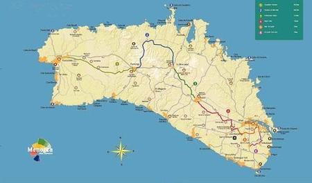 Mapas y recorridos de cicloturismo en Menorca