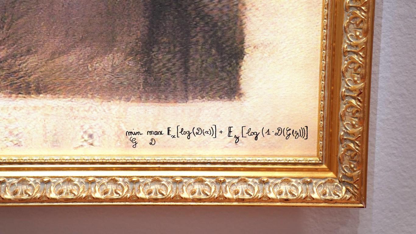 Resultado de imagen para Retrato hecho por inteligencia artificial es subastado en 432,500 dólares
