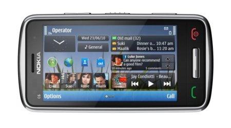 Nokia C4 pantalla