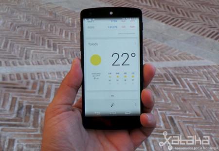 Nexus 5 en mano