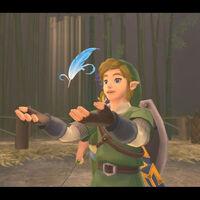 Cómo conseguir pluma de ave azul en Zelda: Skyward Sword HD