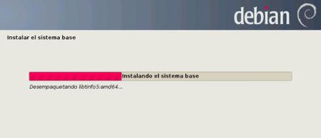 Proceso de instalación de Debian 7