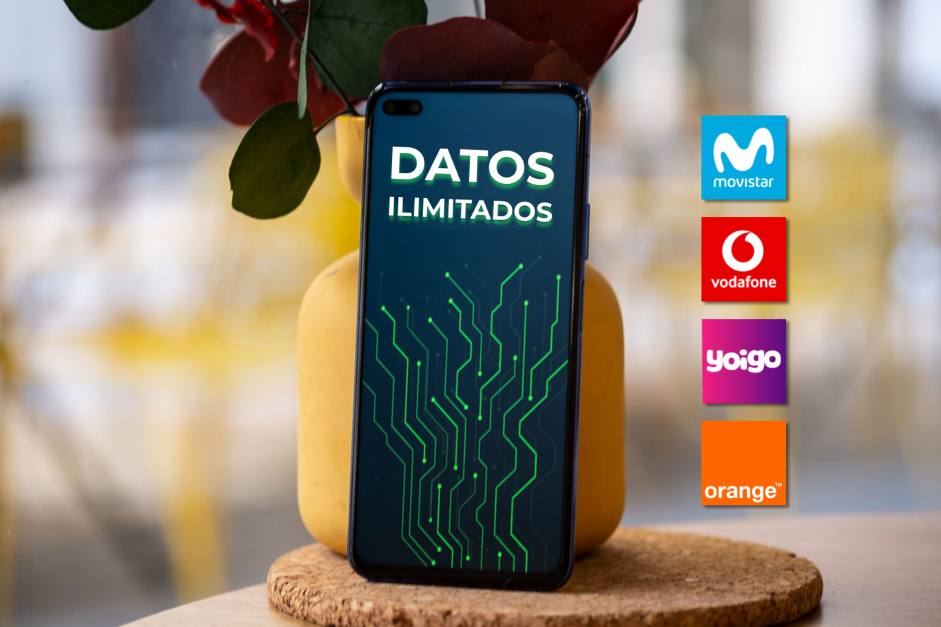 Las tarifas ilimitadas de Movistar, Vodafone, Orange y Yoigo cuentan con otra ventaja extra: móviles a plazos más baratos