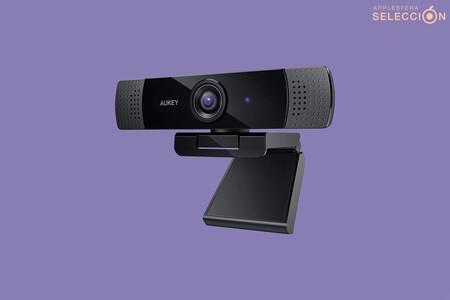 Esta webcam Full HD de AUKEY compatible con Mac está rebajada a su precio mínimo histórico de 28,99 euros con cupón