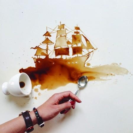 El arte de hacer arte con comida