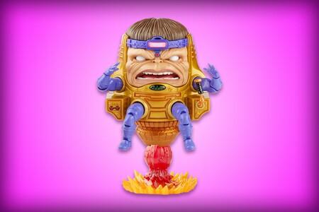 Esta increíble figura Hasbro Marvel Legends de M.O.D.O.K. tiene 40% de descuento, envío gratis y piezas intercambiables
