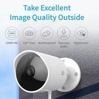 Oferta Flash: cámara de vigilancia YI Outdoor, con visión nocturna y resistencia al agua, por sólo 59,99 euros