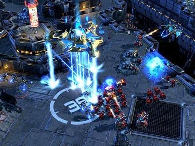 Página web y galería de imágenes de 'StarCraft 2'