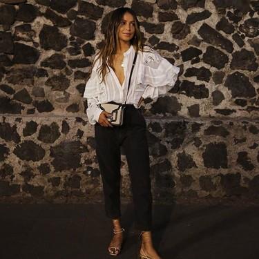 El pantalón negro : la mejor compra de rebajas. 13 propuestas para cinco estilos